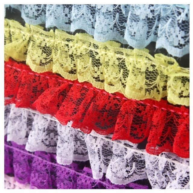 [현재분류명],망사레이스 (2.3cm) 2M 보라 1개 레이스끈 레이스장식 리본장식,포장용끈,포장용리본용품,만들기재료,공예재료,레이스접착리본