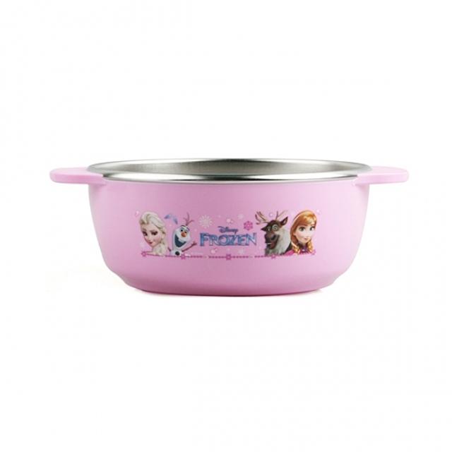 (겨울왕국 논슬립 스텐 대접) 어린이그릇 이유식기