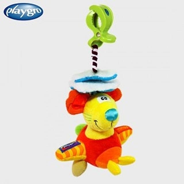 (플레이그로 또르르 유모차걸이 새앙쥐) 유모차장난감 아기장난감 유아완구 장난감