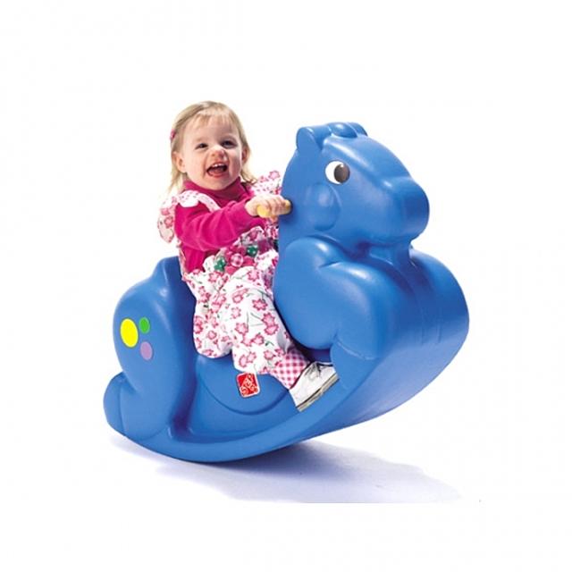 (스텝2 파란말)흔들말 승용완구 장난감 유아완구 수입완구