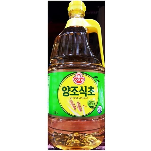 오뚜기 발효 업소용 식자재 양조 식초 1.8L 6EA